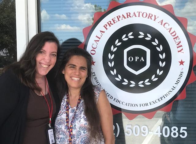 Oasn Executive Director Karen Vega & Educational Specialist AnnMarie Sossong